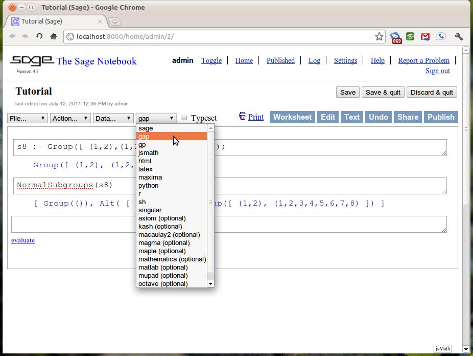 Programming in Sage — SDSU Sage Tutorial v1 1